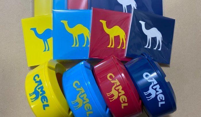JTのキャメルグッズ4種類が発売!卓上灰皿やオリジナルノートなどを紹介