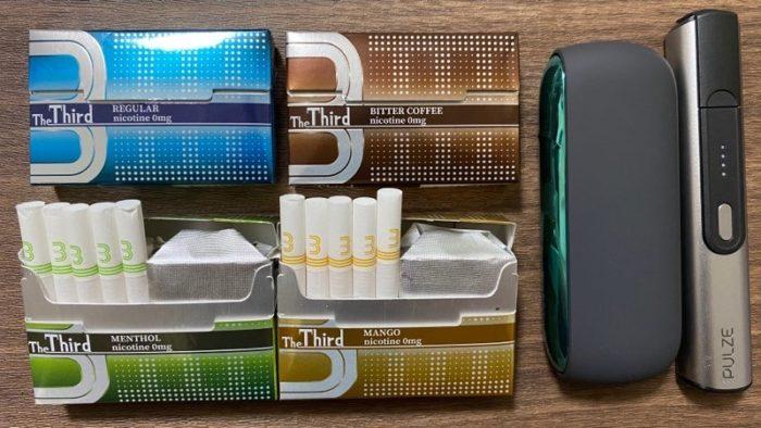 【レビュー】第3のタバコ「The Third」のフレーバー全4種類を吸ってみた