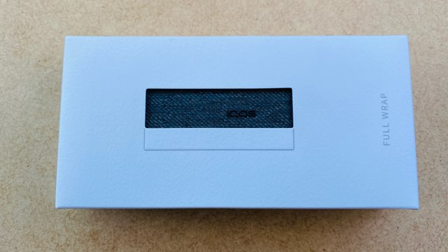 アイコスイルマプライム専用ファブリックフルラップカバーのパッケージ