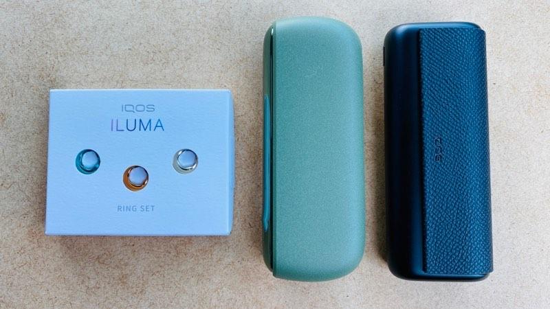 IQOS ILUMA(アイコス イルマ)専用のホルダーリングを取り替えてみた!